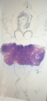 Sugar Plump Fairy In Tu Tu at Suzanne Bell's Fashions